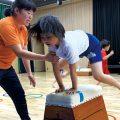 小学生スポーツ教室〜鉄ぼう・とび箱